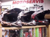 Přilby na motocykly