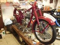 Renovace motocyklů